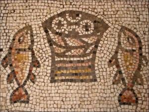 Bread Fish Mosaic