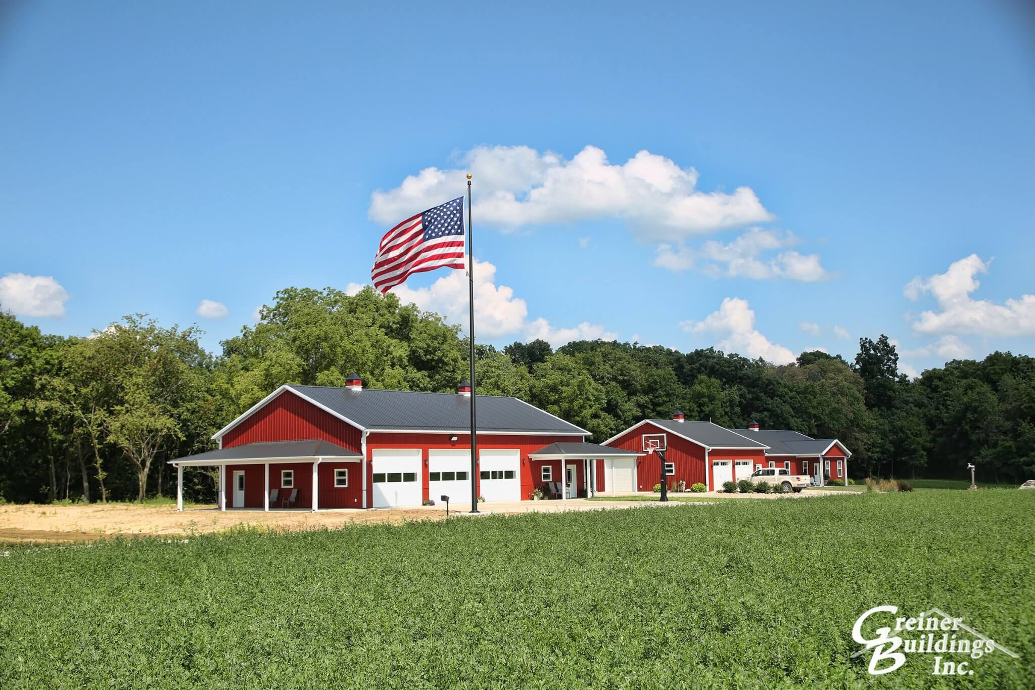 Shop Home Shome The Ultimate Pole Barn With Living Quarters Greiner
