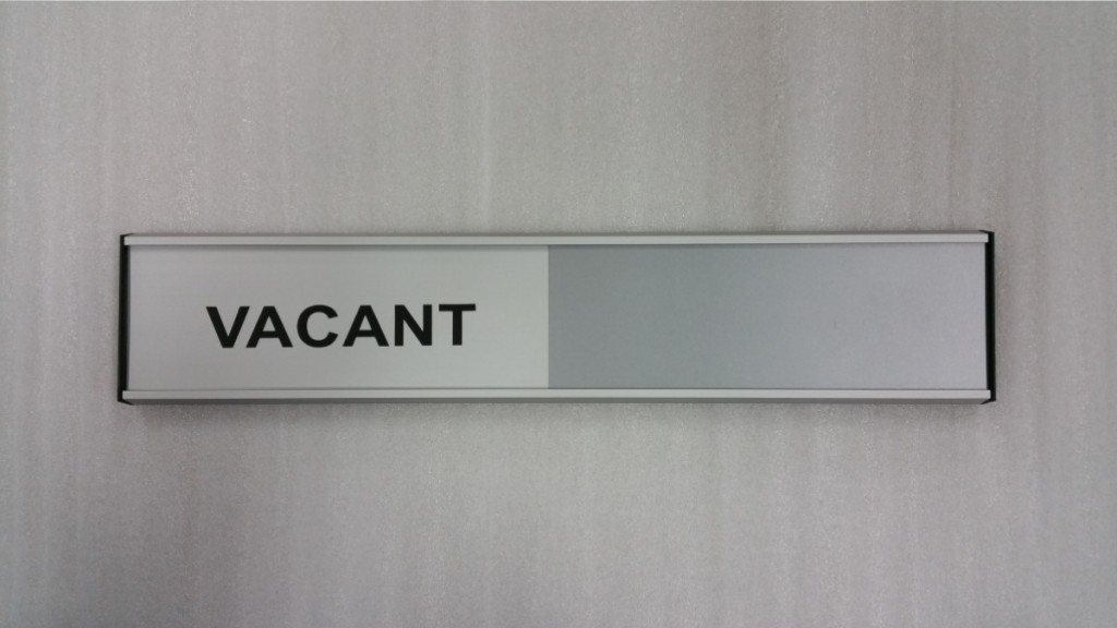 Conference Room Signs and Vacant / Occupied Slider Signs - Grelsons