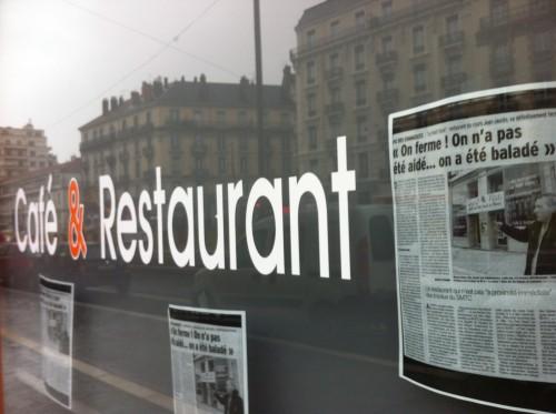 des restaurants ont déposé leur bilan dans l'indifférence des élus PS