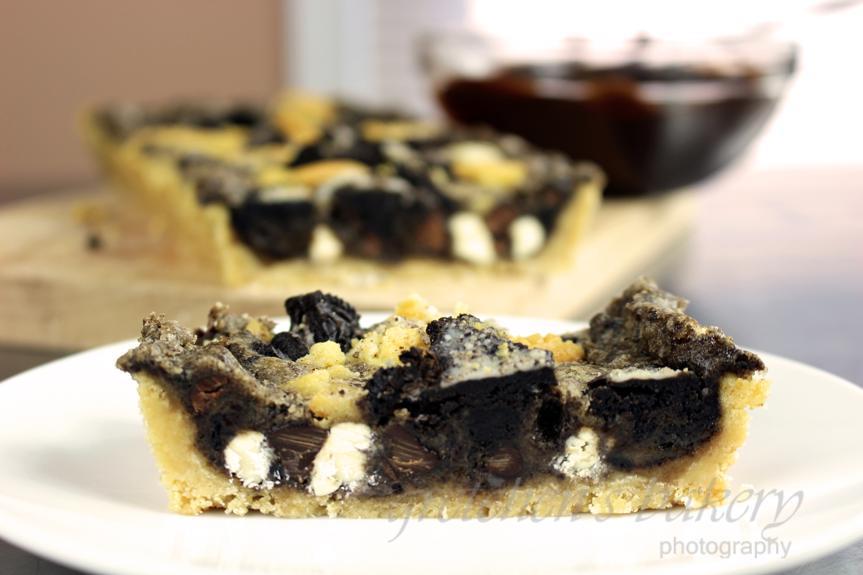 Oreo Kuchen Vegan Black White Oreo Cookie Tart
