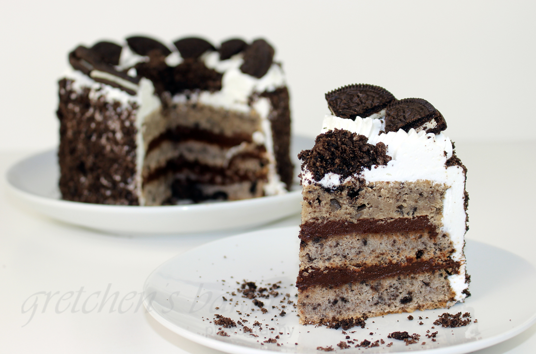 Vegane Oreo Torte Cookies And Custard And Cream Cake