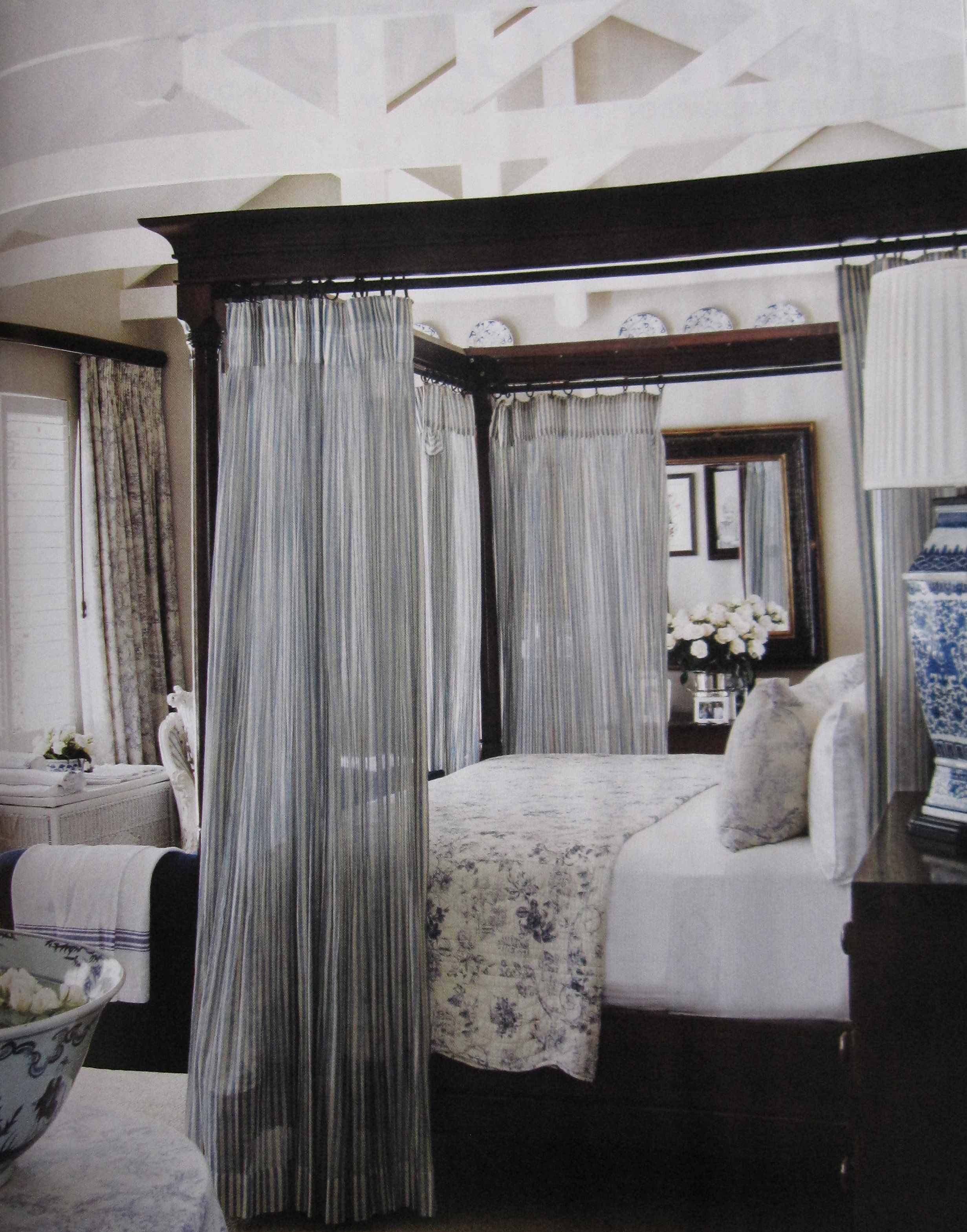 Bedroom Inspiration Grey Bed Canopy Bed Gretha Scholtz