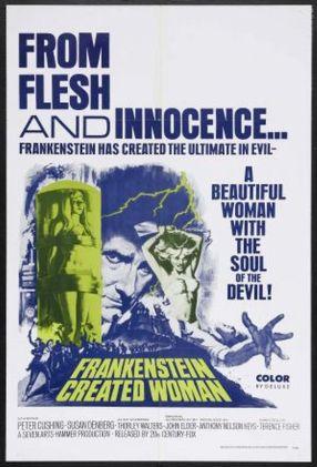 Frankenstein Created Woman 1967