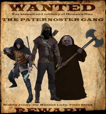paternoster gang, dragoon23, deviantart
