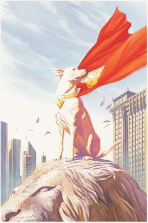 the hero they forgot (by alex ross)