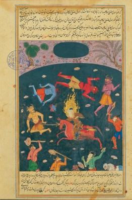 Imam Ali Conquers Jinn, 1568