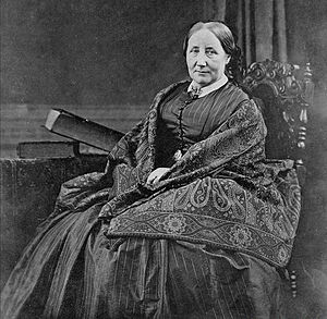 mrs gaskell c 1860