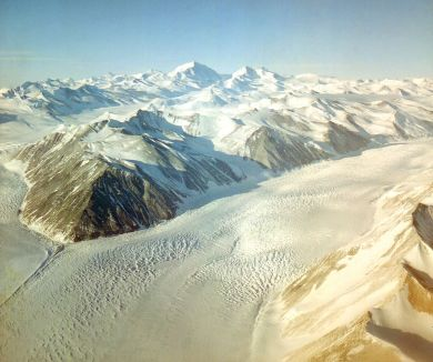 antarctica, earlier this morning