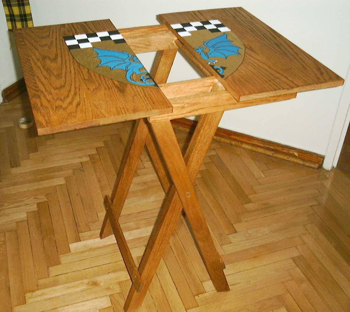 Fold Up Wooden Tables Folding Table