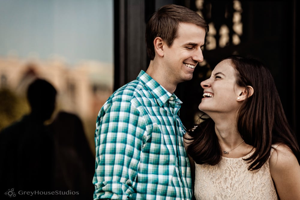 Allyson + David's Beehive Boston engagement and Fairmont Copley Plaza wedding photos by GreyHouseStudios