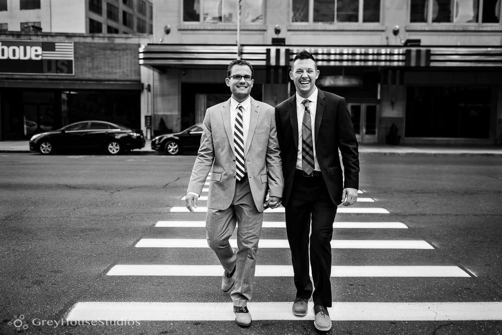 Chris + Dan's Gershon Fox Ballroom Wedding photos in Hartford, CT photography by GreyHouseStudios