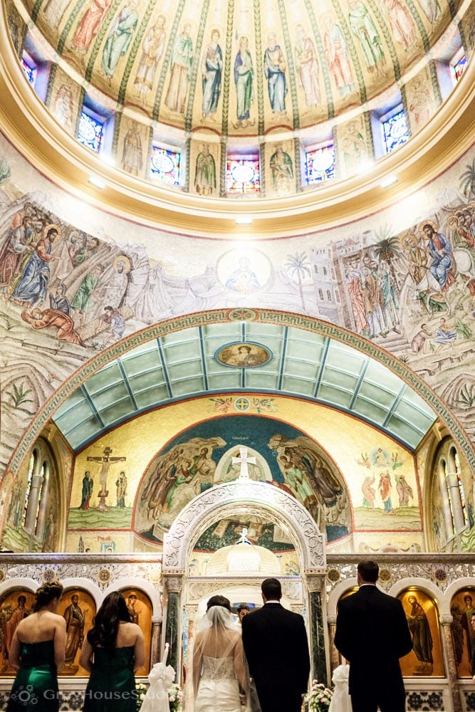 long island wedding ceremony cathedral st paul hempstead photos vows