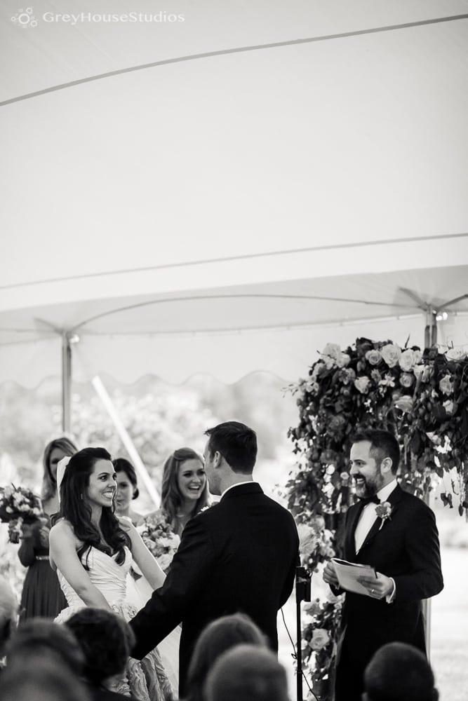 winvian wedding ceremony photos bride and groom exchanging vows