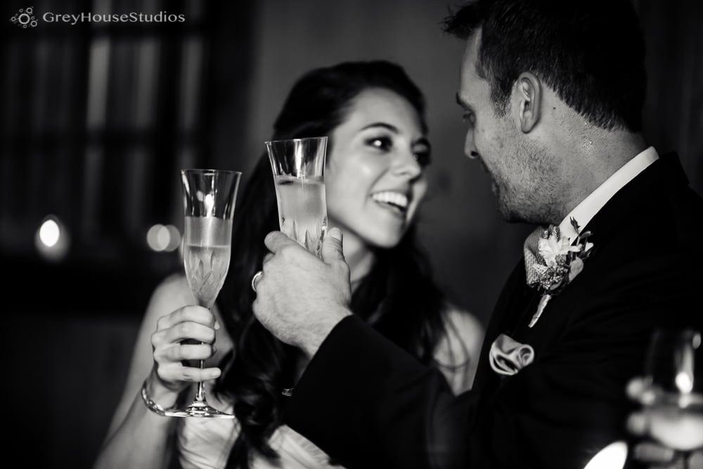 winvian wedding reception photos bride and groom toast