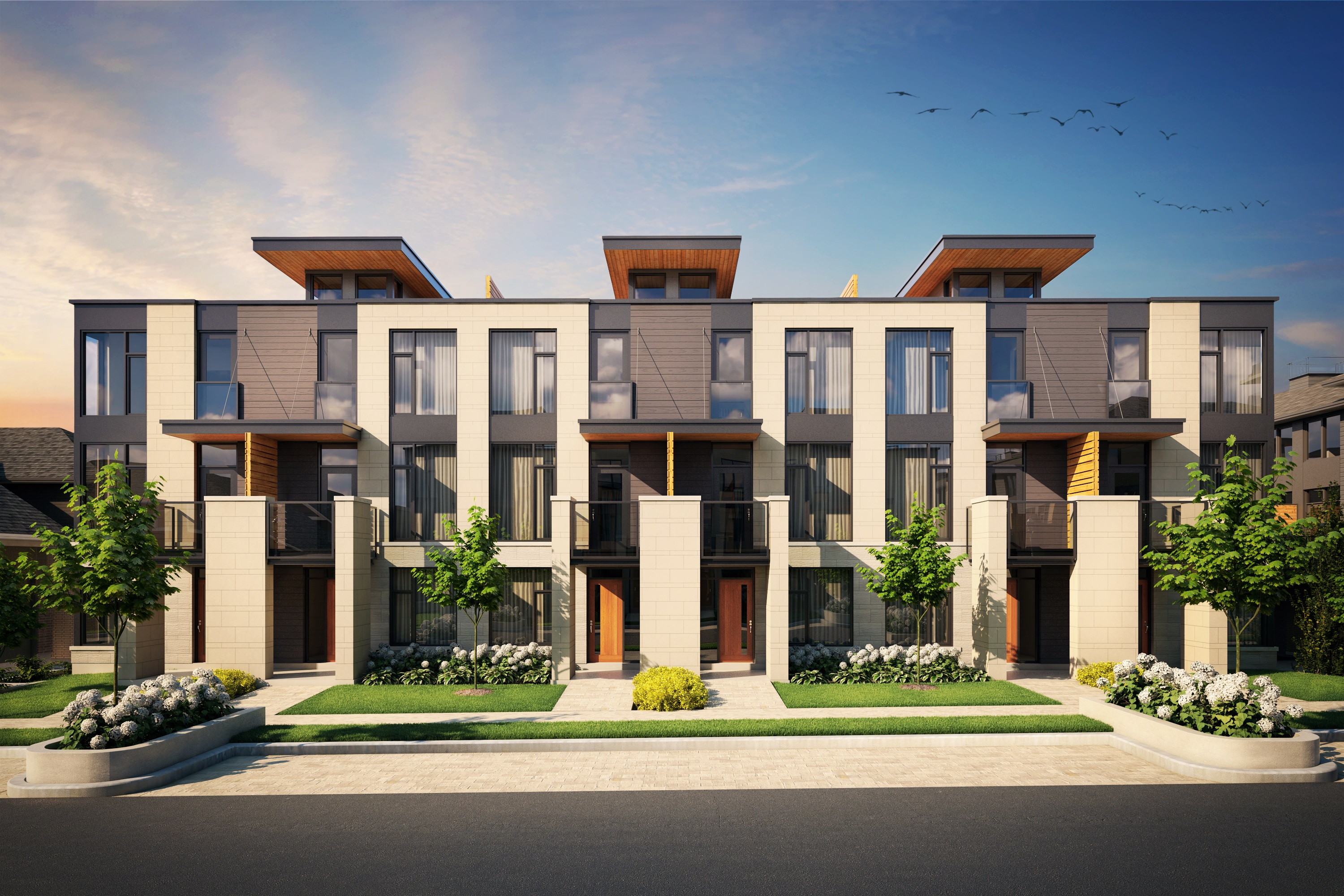 House Builders Ottawa The Panorama Townhomes In Ottawa Greystone Village
