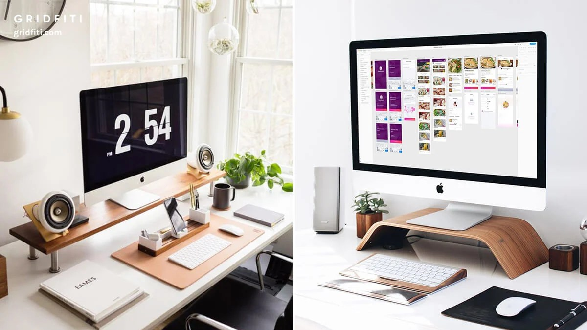 20 Best Minimalist Desk Setups Home Office Ideas Gridfiti