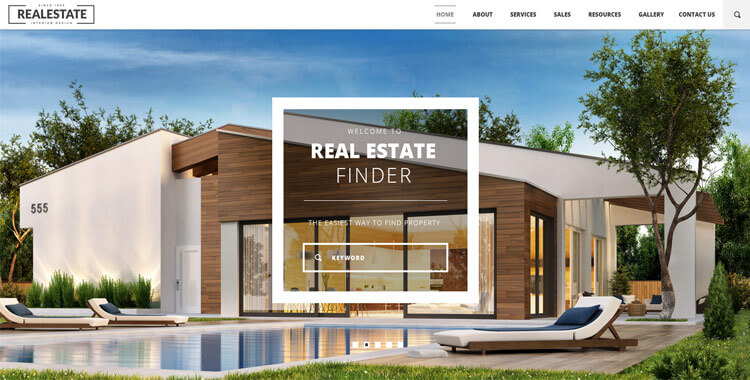 Real Estate - Free Bootstrap Responsive Template Gridgum