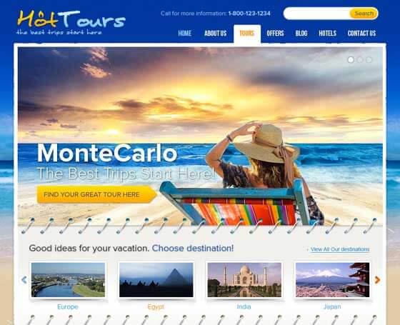 WordPress Travel Themes Gridgum