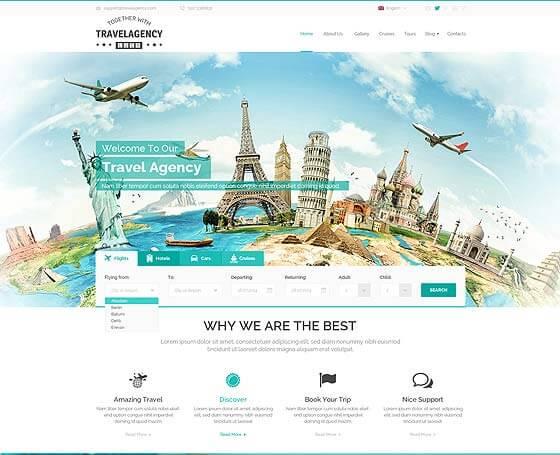 WordPress Travel Themes Gridgum - wordpress travel themes