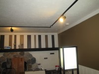 Track Lighting in Our Living Room | From House to Home