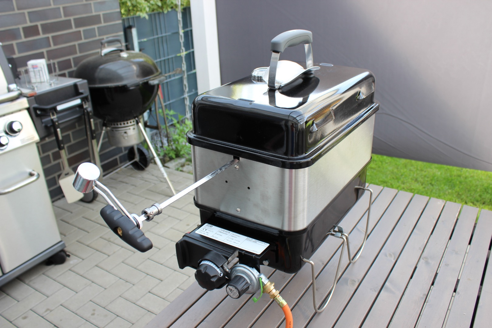 Landmann Gasgrill Portable Weber Tischgrill Latest Gasgrill Flammig Stand With Weber