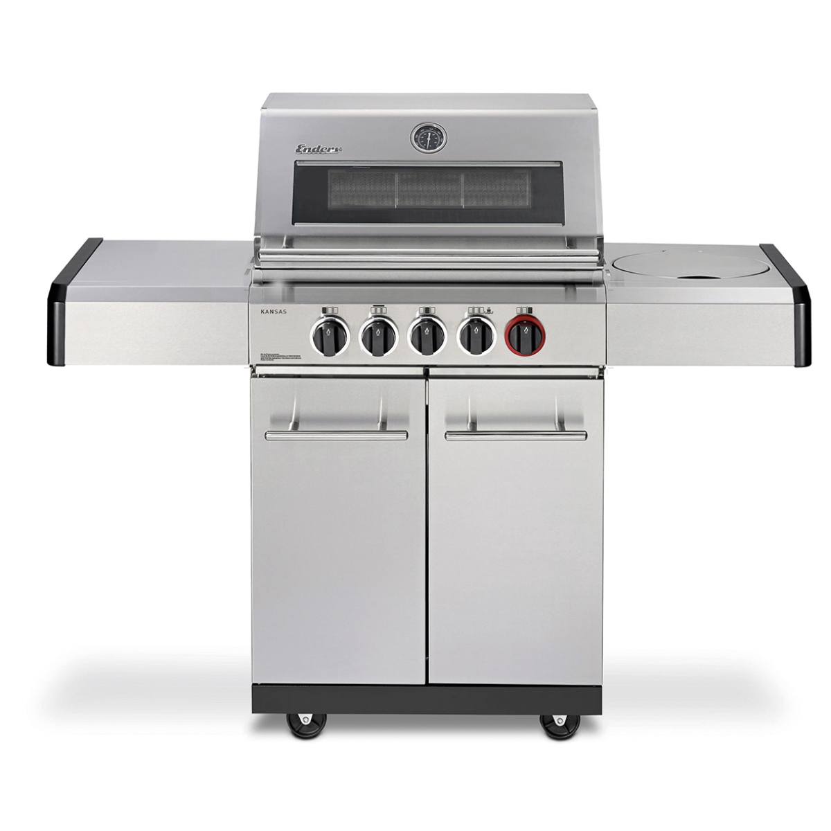 Enders Outdoor Küche Kansas Pro 4 Sik Profi Turbo Enders Kansas Pro 3 Sik Turbo Edelstahl Gasgrill Mit