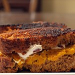 Butternut Squash & Pumpkin Bread Grilled Cheese
