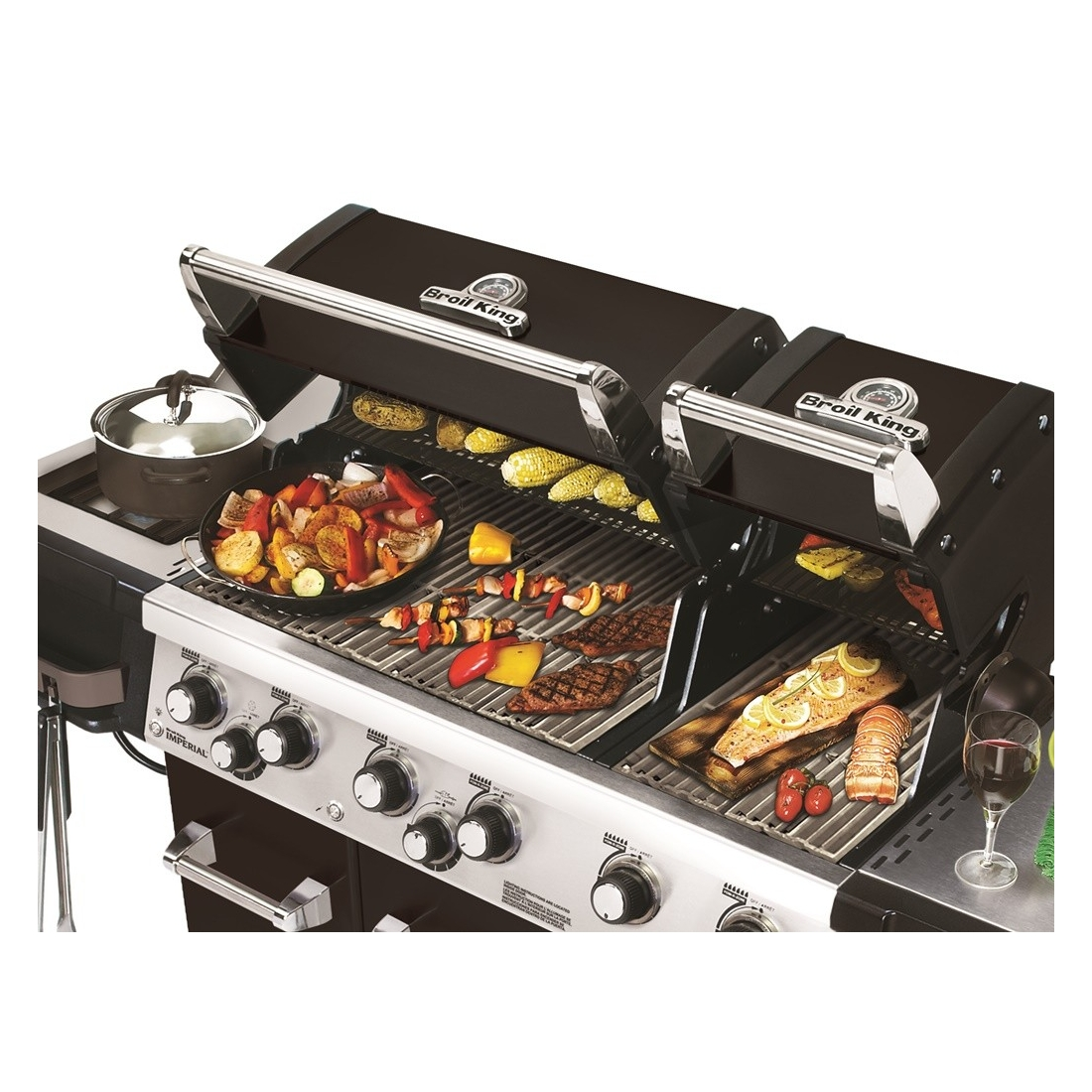 Küchen Grillplatte Broil King Regal™ 690er Xl, Black Griller-shop-graz