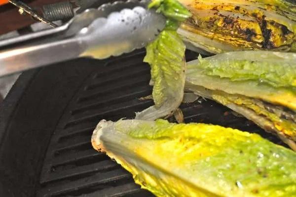 Grilled Lettuce - 086