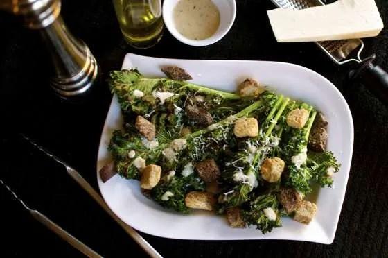 Grilled Kale Caesar Salad - 152
