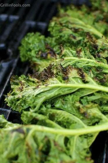 Grilled Kale Caesar Salad 7