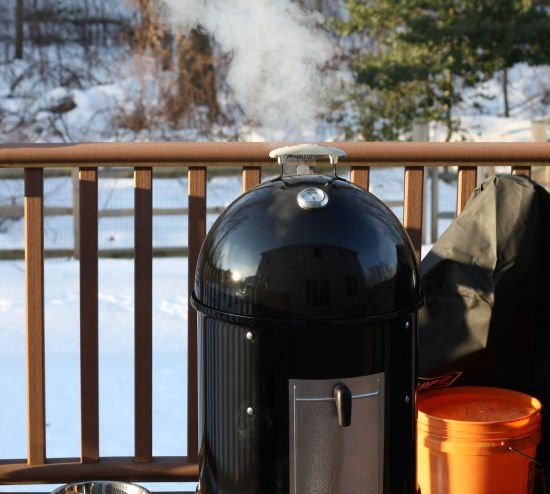 Weber Smokey Mountain BBQ Smoker - Grilling24x7