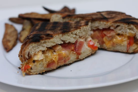 Grilled Chicken Bacon Ranch Panini - Grilling24x7Grilling24x7