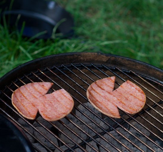 Grilled Taylor Pork Roll Tailgate Recipe
