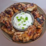 Jamaican Jerked Grilled Chicken Wings