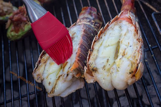 How to grill lobster on a charcoal grill - grilling24x7