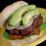 Bacon Avocado Burger Recipe