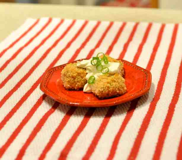 These easy-to-make bite-sized Buffalo Chicken Croquettes are an ideal dish for everyone from fussy foodies to cost-conscious vacationers on the go. Baking the croquettes in the oven is a healthier alternative to frying. One bite will leave you looking for another. If you are looking for a game changer on game day, look no further!