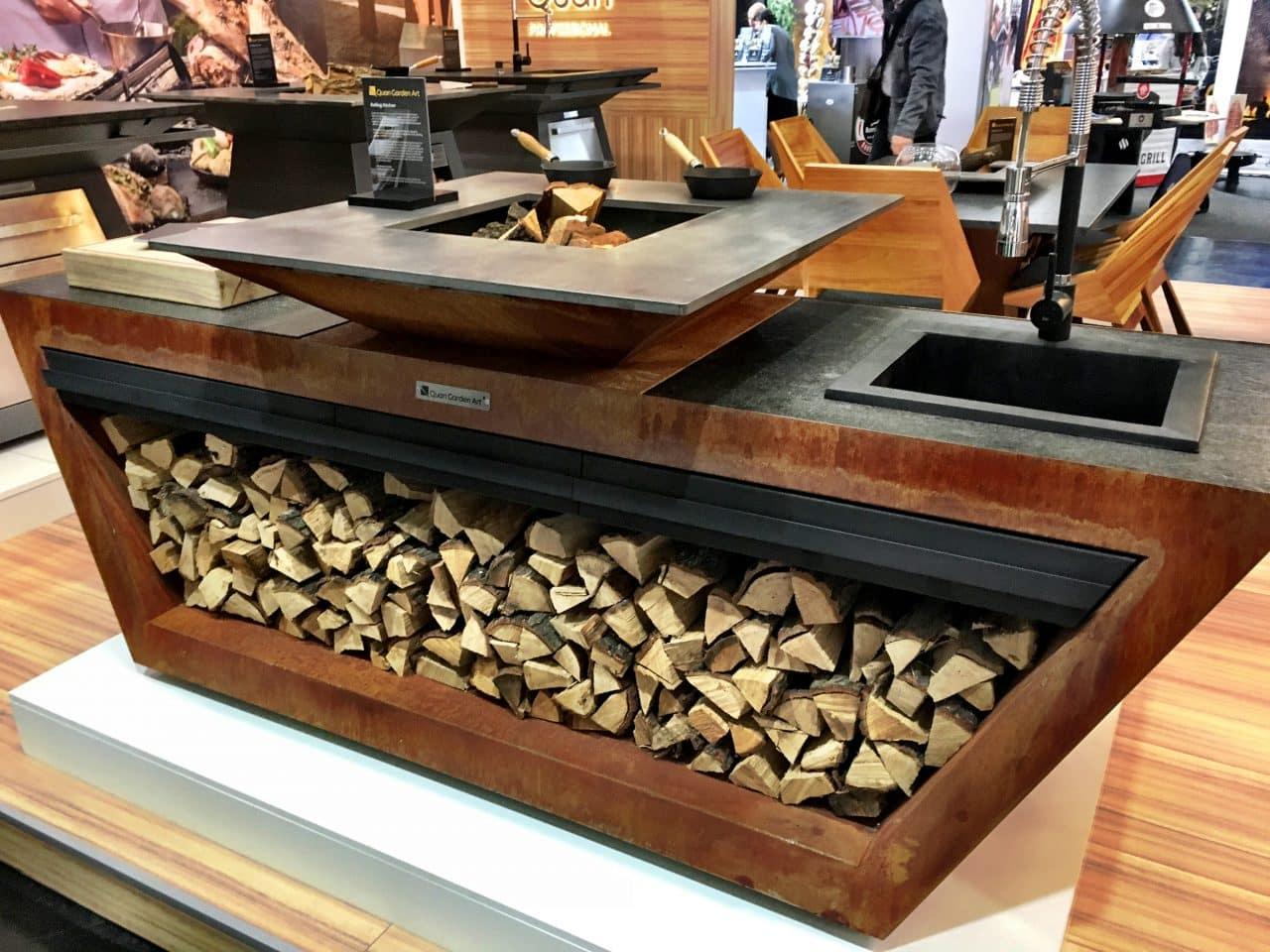 Weber Grill In Outdoor Küche Integrieren : Weber grill in outdoor küche integrieren die grilltrends