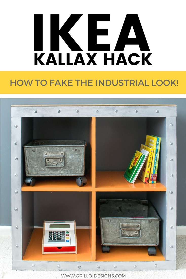 Ikea Expedit Ovet Ikea Kallax Hack Industrial Storage For A Boys Bedroom Grillo