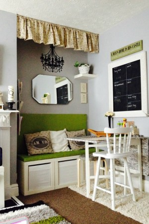 Living with a splash of green feature