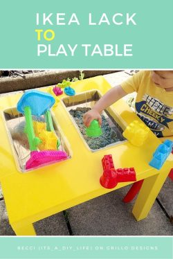 Small Of Kids Play Table