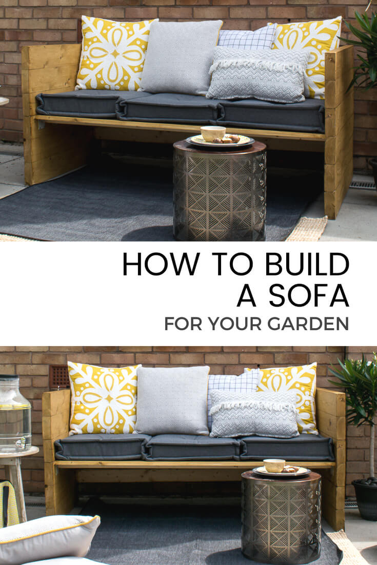 Garden Sofa Two Seater Build An Outdoor Sofa With Sainsbury S Home Grillo Designs