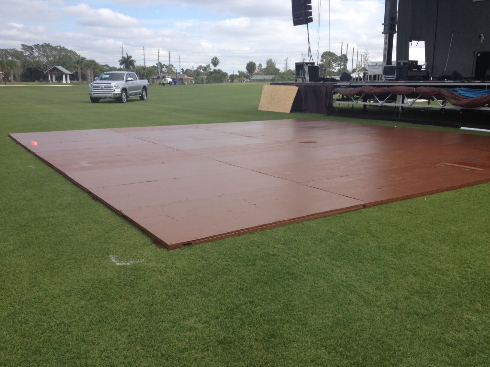 Temporary Flooring Staging Dance Floor Rentals Outdoor Flooring Grimes