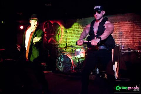 The Bronx male strippers los globos