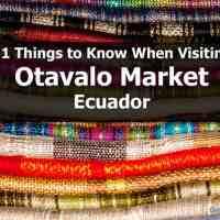 Otavalo Tour: 11 Things to Know When Visiting Otavalo Market, Ecuador
