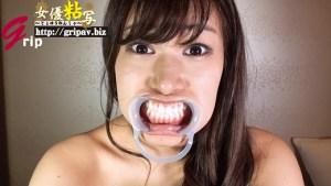 女優粘写01 大人しそうに見えて実はドSな女の子がM男の顔面に唾吐きしまくり&唾手コキ編/水原あお
