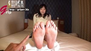 現役素人女子大生の敏感過ぎる足裏と意外にドSな足責め/女子大生のまどかさん