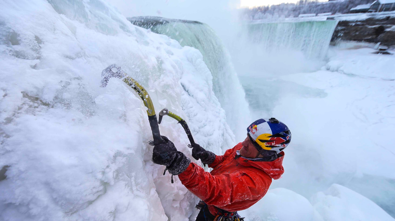 Wallpaper Falling Off Wall Niagara Falls Finally Climbed Gripped Magazine